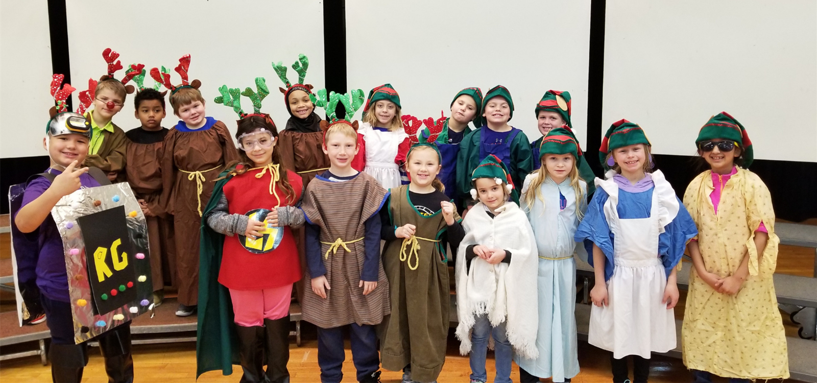 2nd grade Christmas play