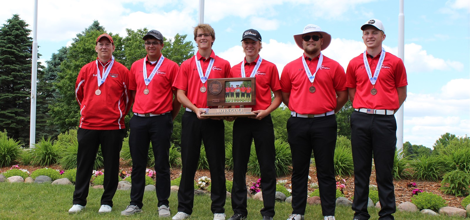 Boys Golf 3rd Place at State!