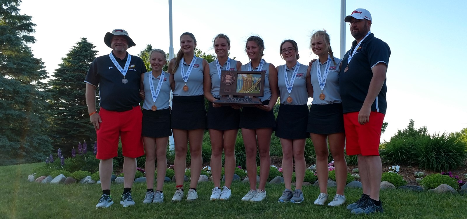 Girls Golf 3rd Place at State!
