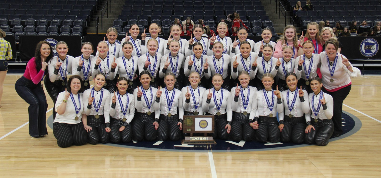 High Kick State Champs!